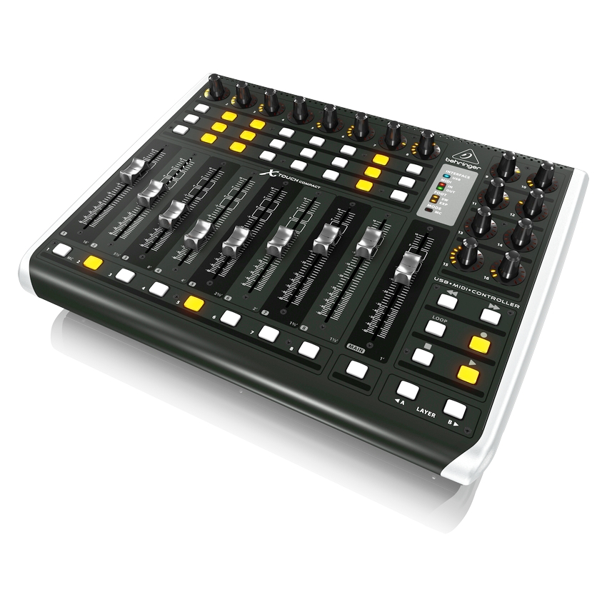 Миди-контроллер BEHRINGER X-TOUCH COMPACT